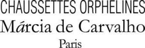 Chaussettes orphelines Marcia de Carvalho Logo