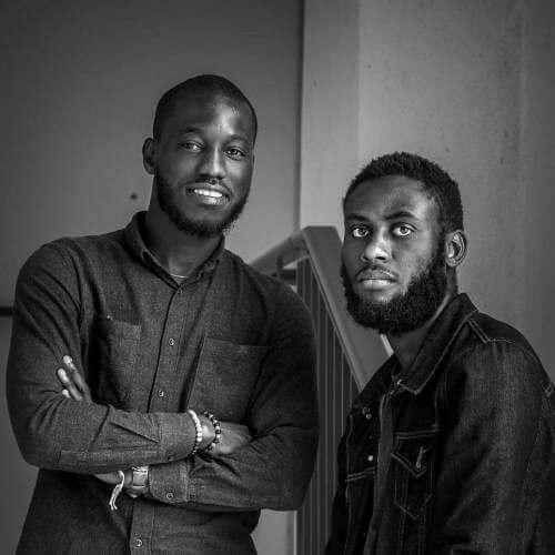 Lancine Koulibaly et Dieuveil Ngoubou