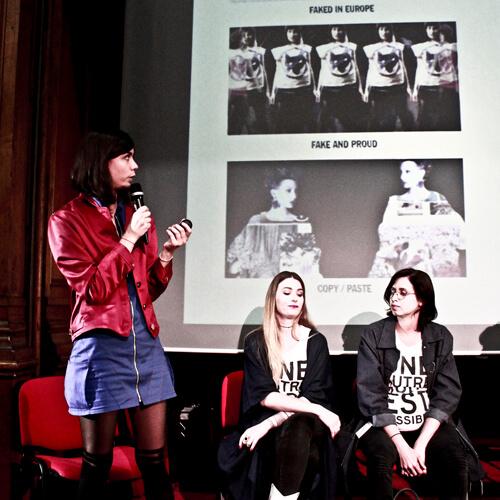 FashionGreenDays 2018 Talk Noémie Devime - About A Worker - WYLDE