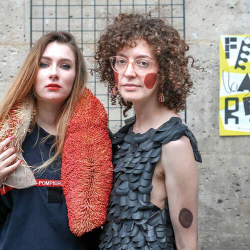 UAMEP - Fête de la Récup Noémie Devime et Sofia Linares Atypique Atipico