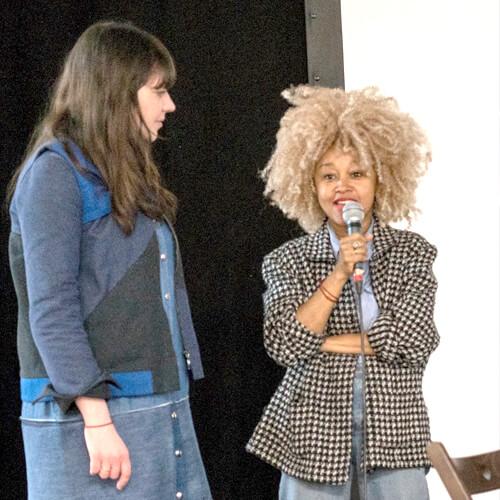 Une Autre Mode Est Possible Le 100 Avril 2018 Cécile Jeanne Gayrard et Sakina Msa