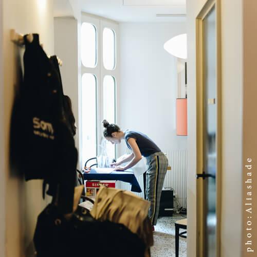 Une Autre Mode Est Possible x Le Pigalle Mai 2018 - Workshop Upcycling Fashion